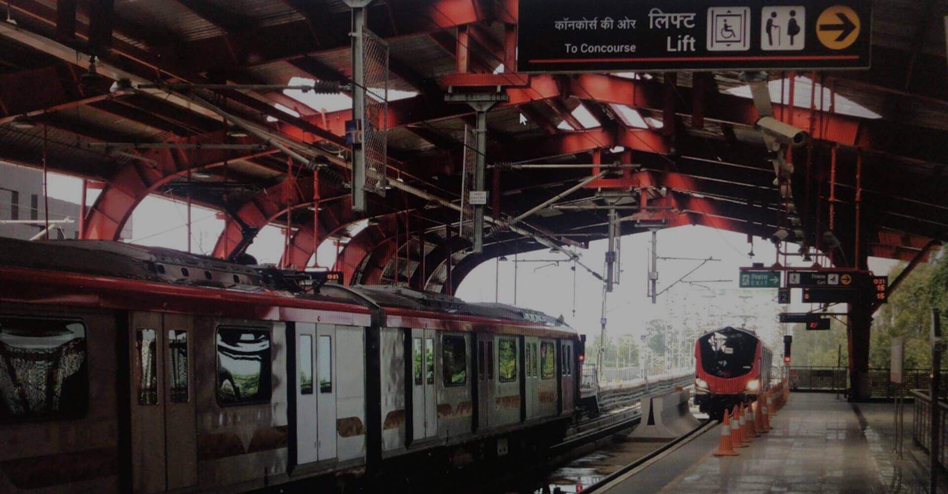Metro construction companies in India